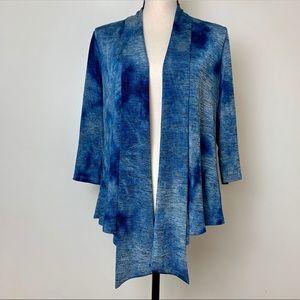 Alberto Makali Blue Fly Away Cardigan Size Small